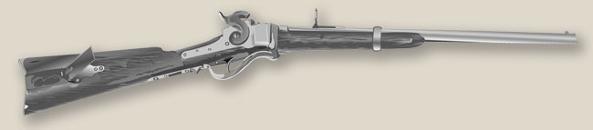 Illustration of a Sharps Carbine