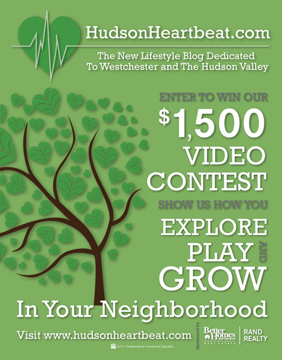Hudson Heartbeat Video Contest Flyer
