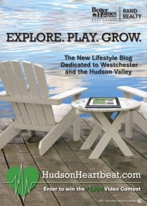 Real Estate Lifestyle Branding ad for Hudson Heartbeat