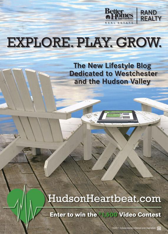 Hudson Heartbeat Lifestyle Blog Branding Ad