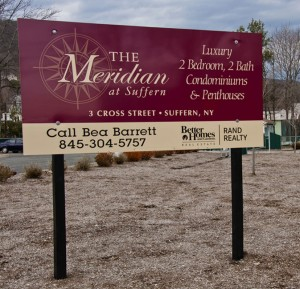 New Development Signage Design for The Meridian Condominiums in Suffern, NY