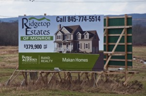 Ridgetop Estates Real Estate Billboard