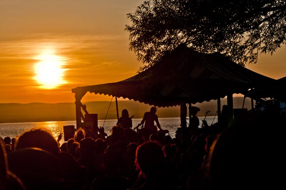 Photograph of Clearwater Music Festival at Sunset
