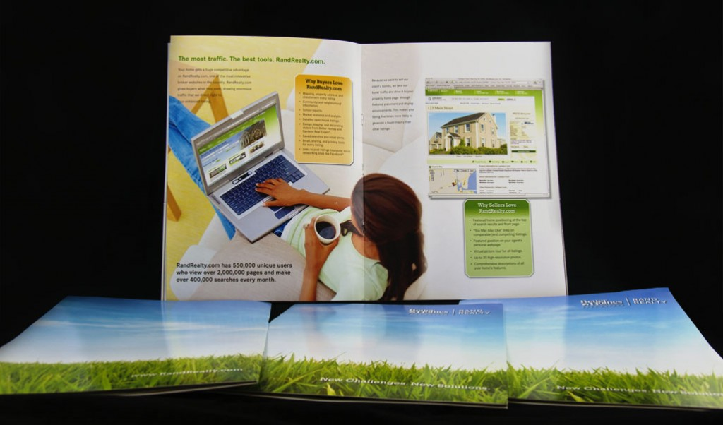 photo of listing presentation brochure