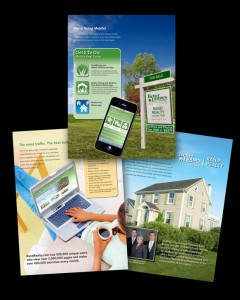 digital image of listing presentation brochure