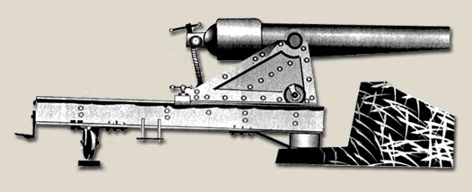 Illustration of A Swivel Mounted Parrot Rifle