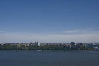 The Bronx, Hudson River and Sky