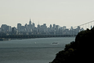 Geoorge Washington Bridge and Manhattan