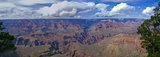 The majesty of The Grand Canyon unfolds in the evening light.