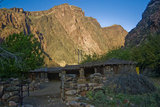 A Corral to hold mules at the bottom of the Grand Canyon.