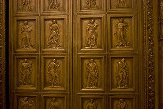 Bronze Door Relief Sculpture