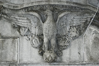 Eagle on New York State Capitol Building